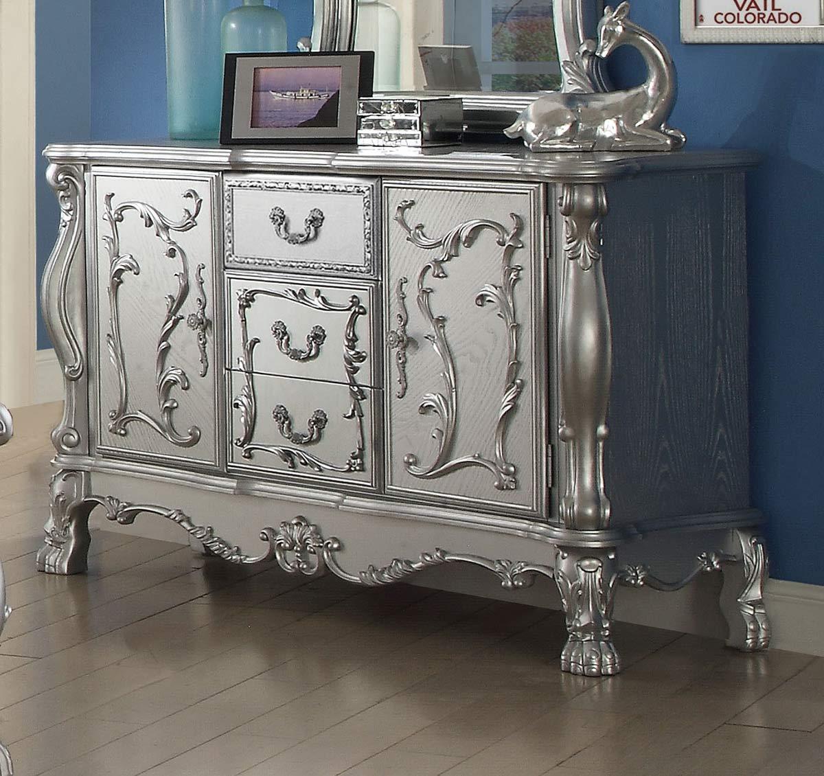 Acme Dresden Dresser - Silver