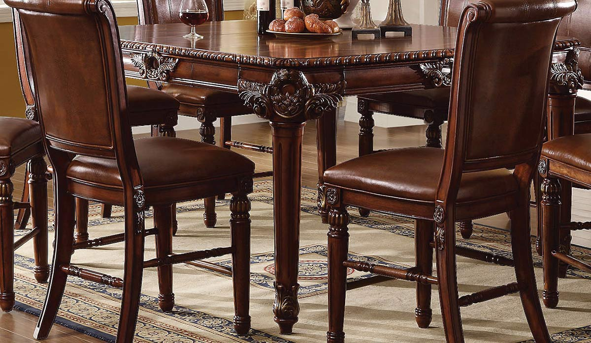 Acme Winfred Counter Height Table - Cherry