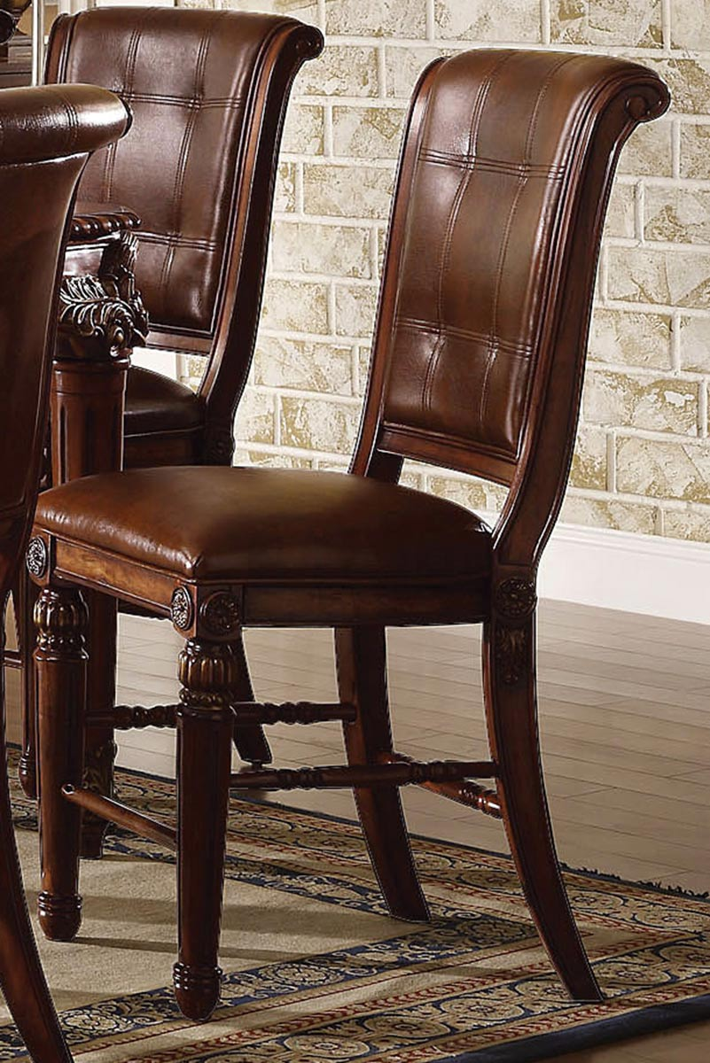Acme Winfred Counter Height Chair - Cherry
