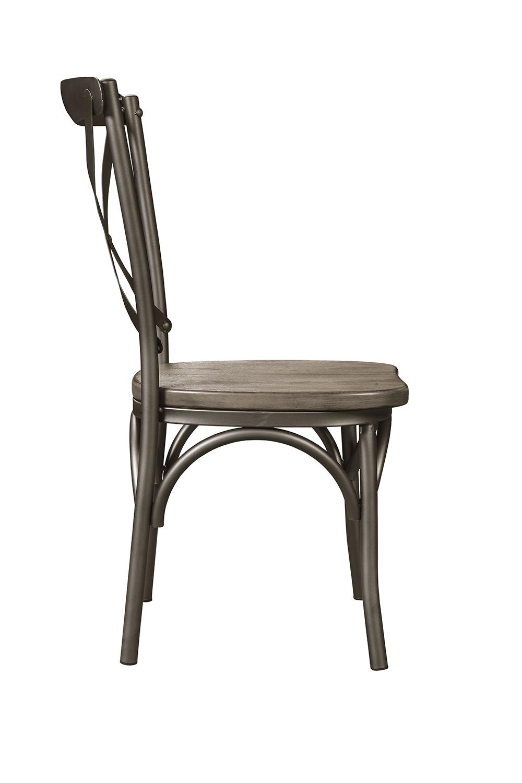 Acme Kaelyn II Side Chair - Gray Oak/Sandy Gray