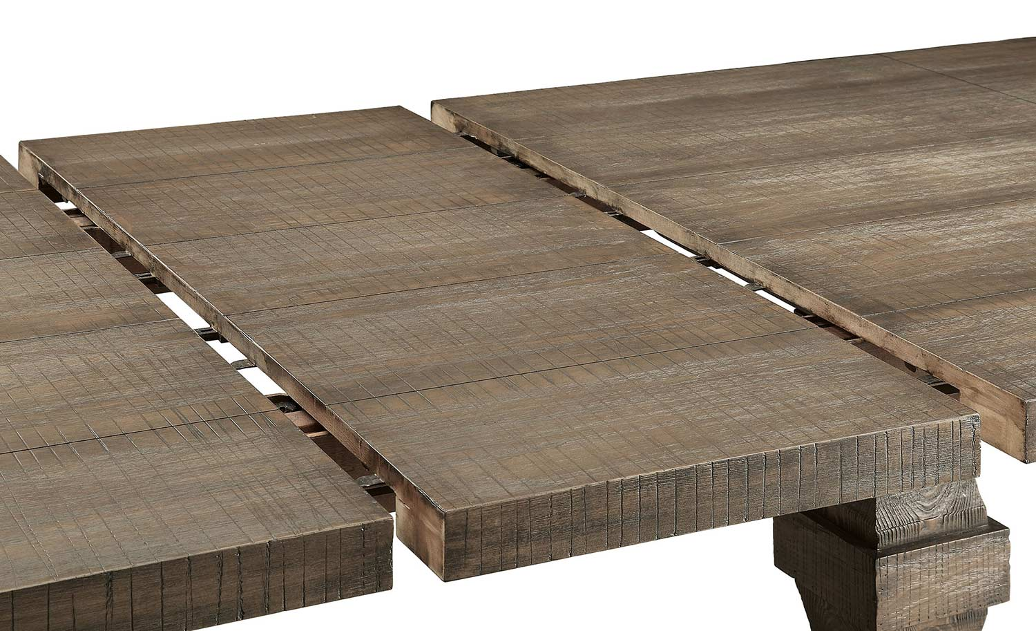 Acme Landon Dining Table - Salvage Brown