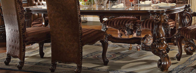 Acme Versailles Dining Table (96L) - Cherry Oak