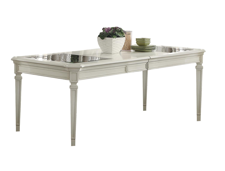 Acme Florissa Dining Table - Antique White