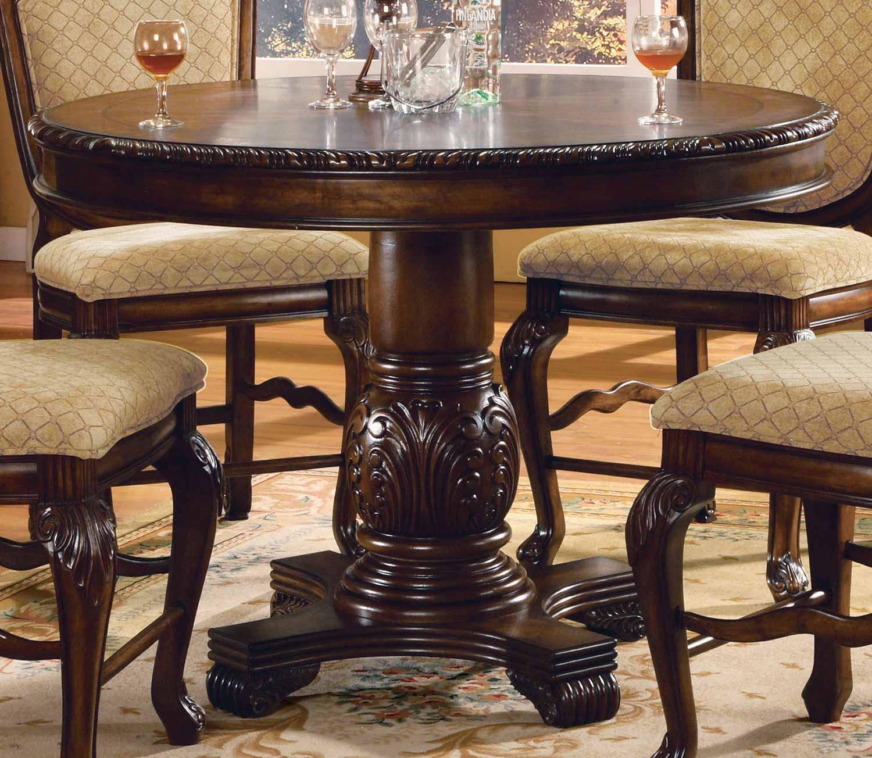 Acme Chateau De Ville Counter Height Table - Espresso