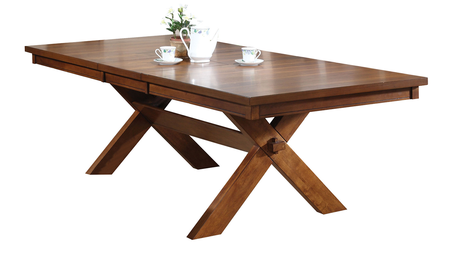 Acme Apollo Dining Table - Walnut
