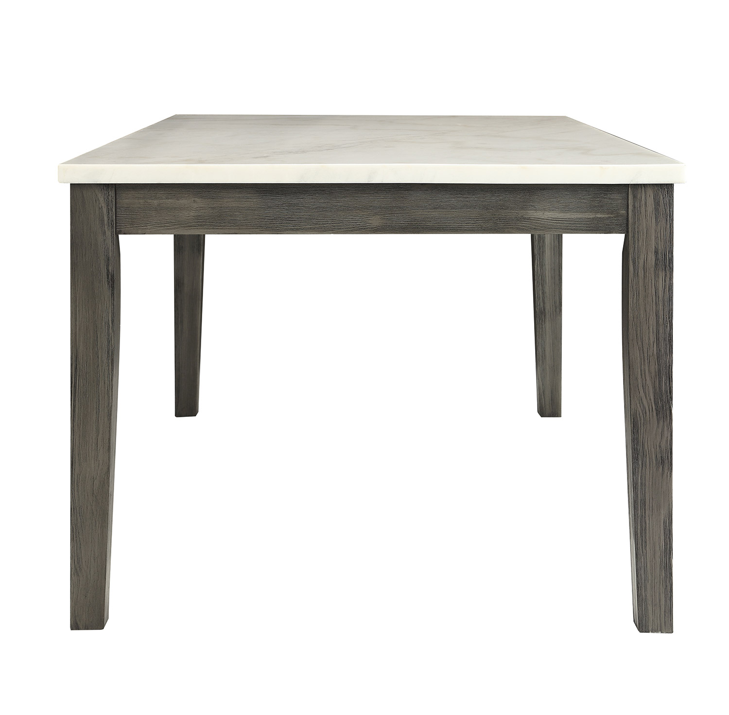 Acme Merel Dining Table - White Marble/Gray Oak