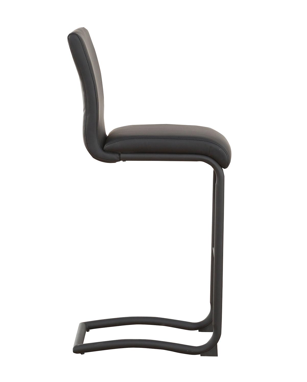 Acme Gordie C Metal Shape Counter Height Chair - Black Vinyl