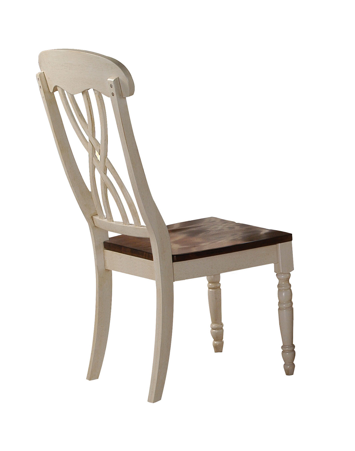 Acme Dylan Side Chair - Buttermilk/Oak