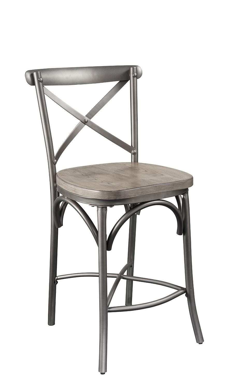 Acme Kaelyn II Counter Height Chair - Gray Oak/Sandy Gray