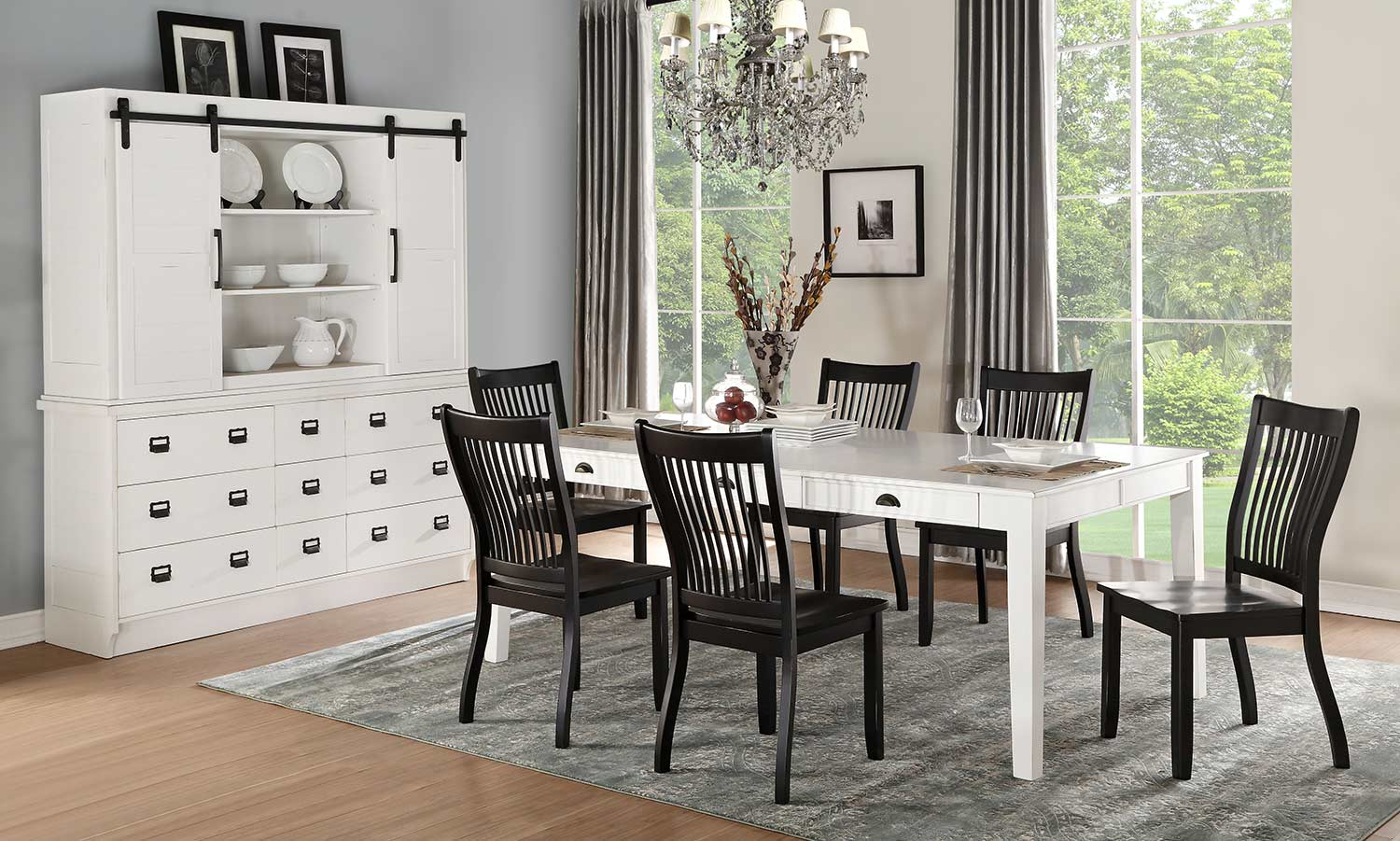 Acme Renske Dining Set - Antique White