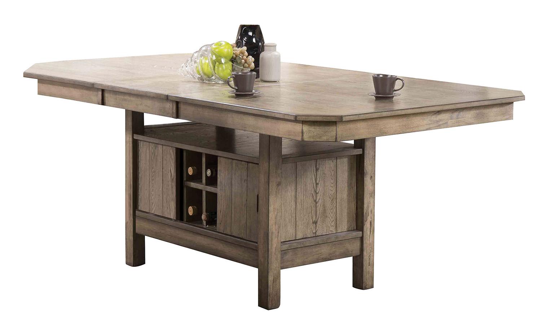 Acme Ramona Dining Table - Rustic Oak