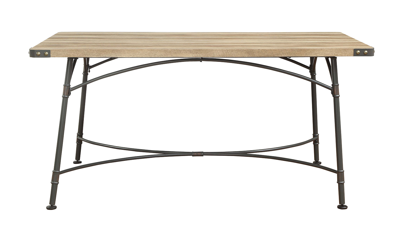 Acme Itzel Dining Table - Antique Oak/Sandy Gray