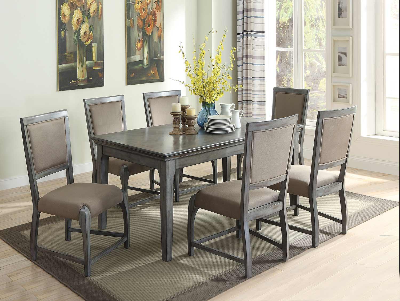 Acme Freira Dining Set - Antique Gray
