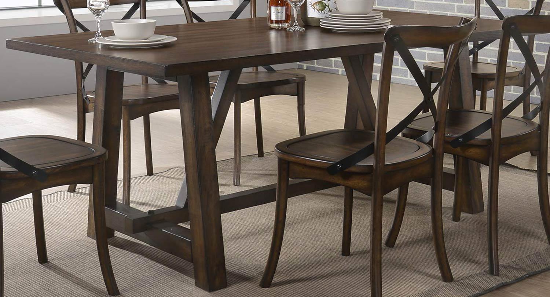 Acme Kaelyn Dining Table - Dark Oak