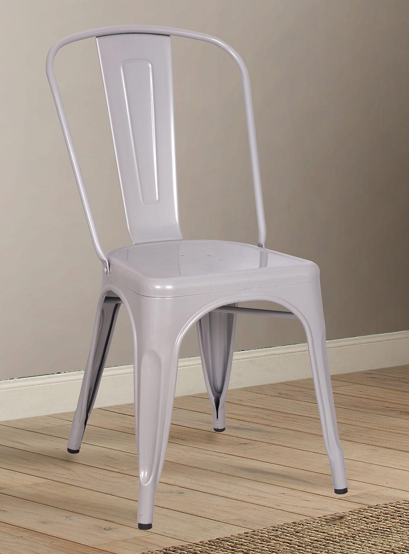 Acme Jakia Side Chair - Silver