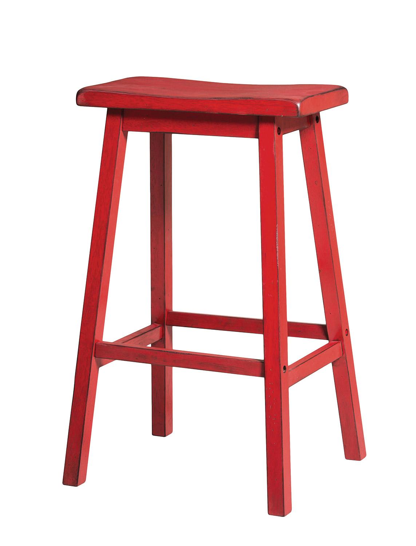 Acme Gaucho Bar Stool - Antique Red