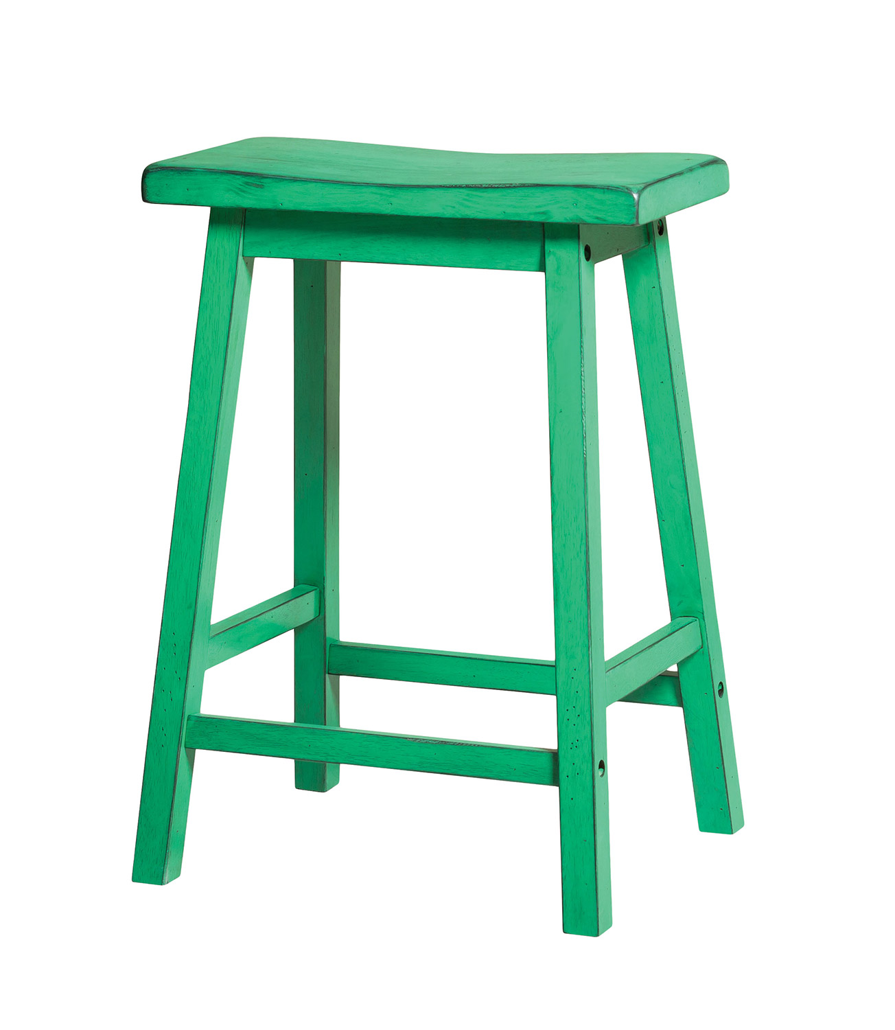 Acme Gaucho Counter Height Stool - Antique Green
