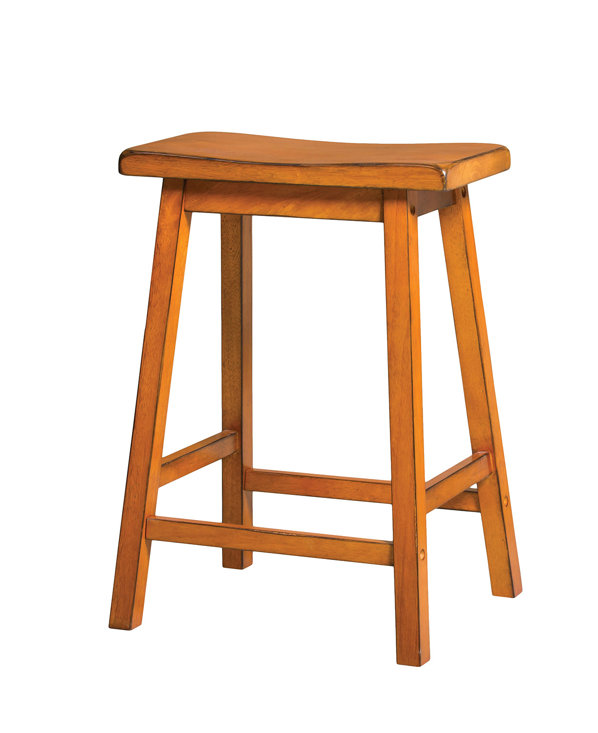 Acme Gaucho Counter Height Stool - Antique Oak