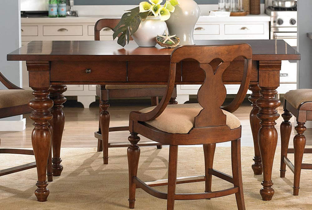 American Drew Fulton County Counter Height Set