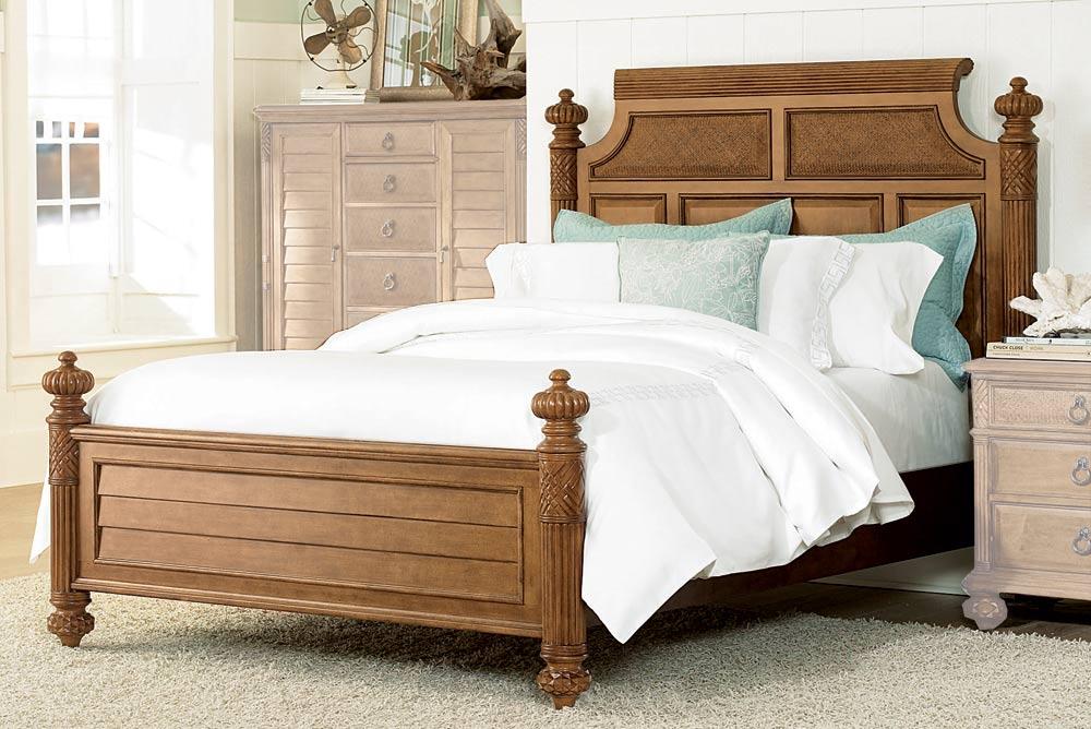 American Drew Grand Isle Island Bed