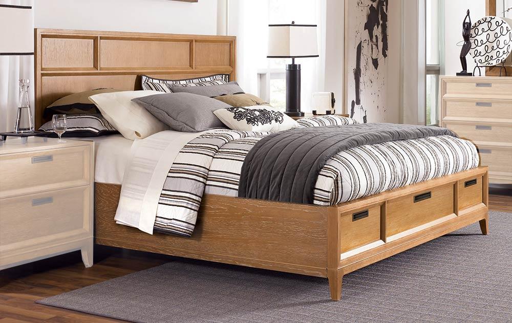 American Drew Sedona Storage Panel Bed