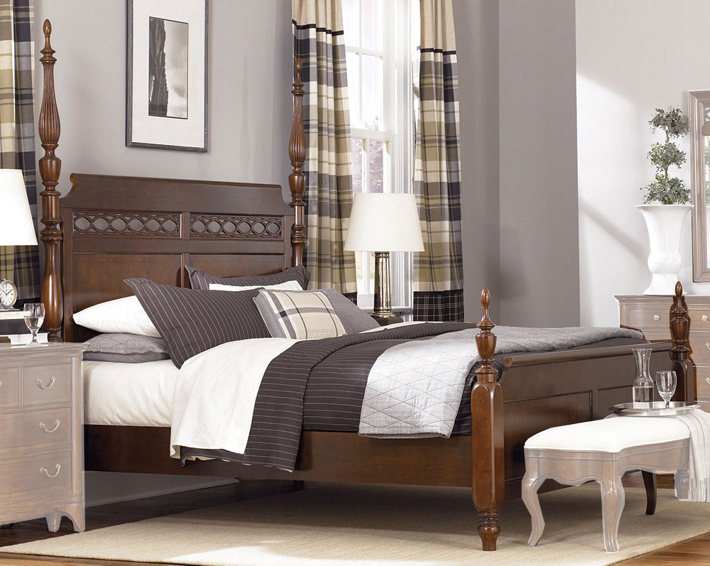 American Drew Cherry Grove The New Generation Poster Bed