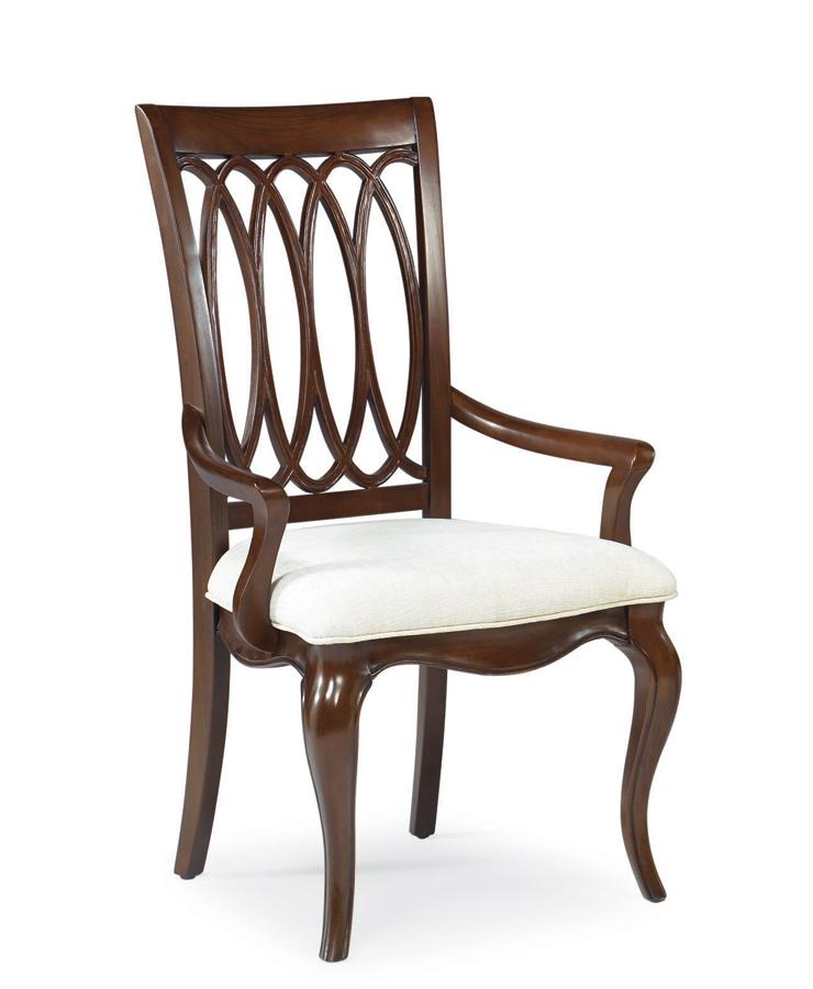 American Drew Cherry Grove The New Generation Splat Back Arm Chair