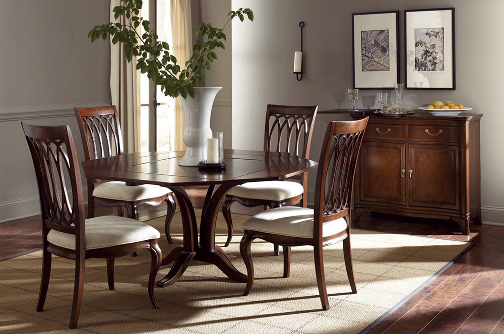 American Drew Cherry Grove The New Generation Square Table Set