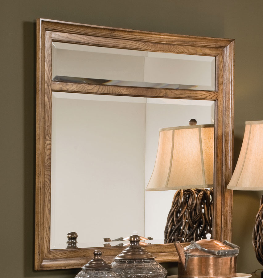American Drew Americana Home Beveled Landscape Mirror