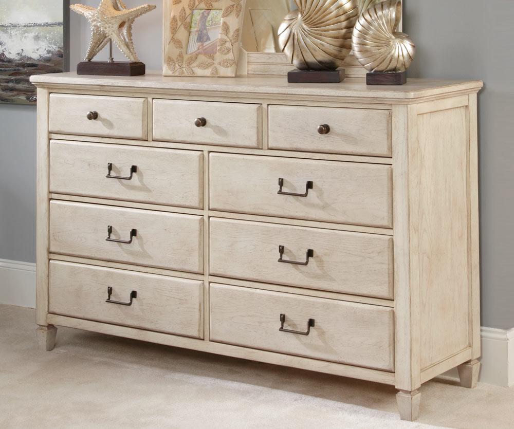 American Drew Americana Home Drawer Dresser - White