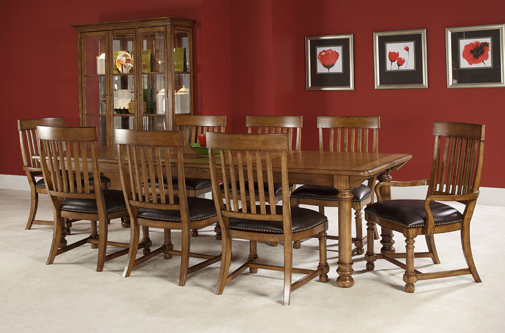 American Drew Americana Home Harvest Table Dining Set