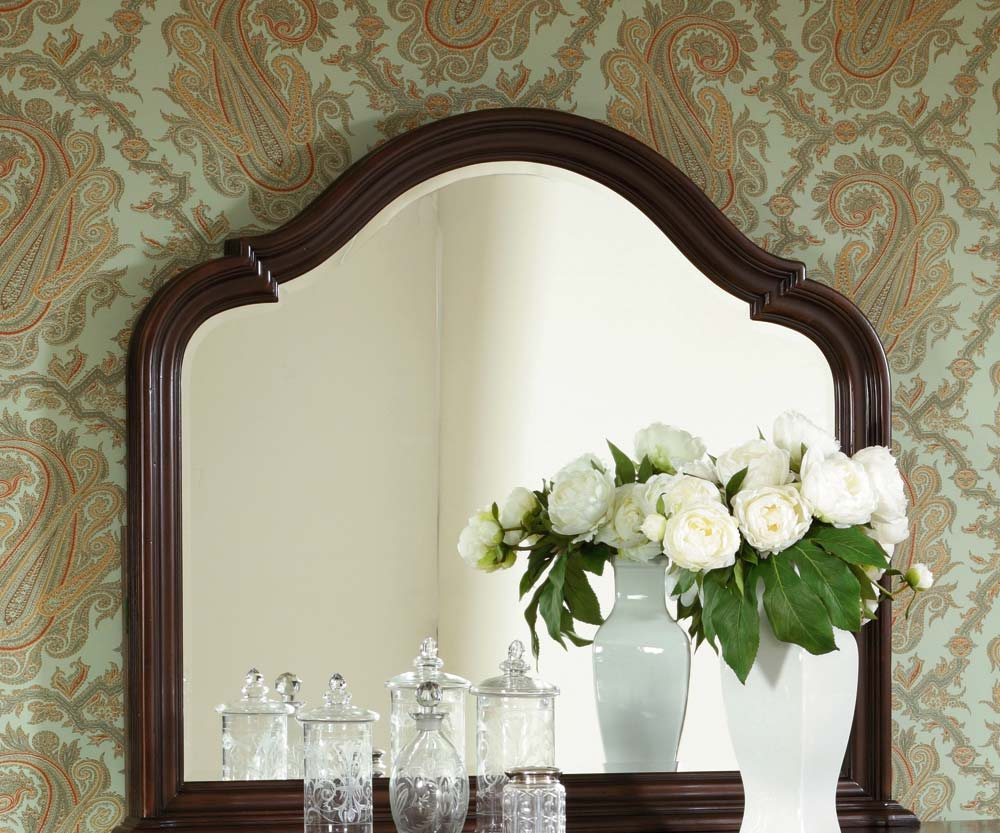 American Drew Carriage Place Beveled Landscape Mirror