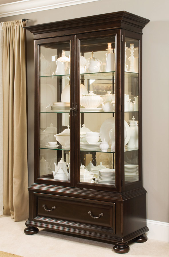 American Drew Carriage Place China Display Cabinet