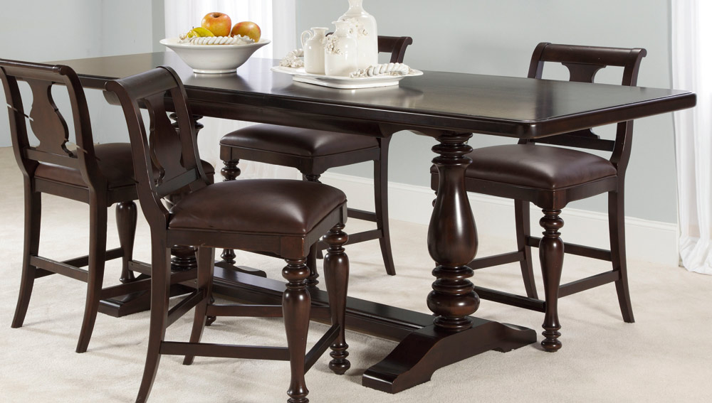 American Drew Carriage Place Gathering Table Set