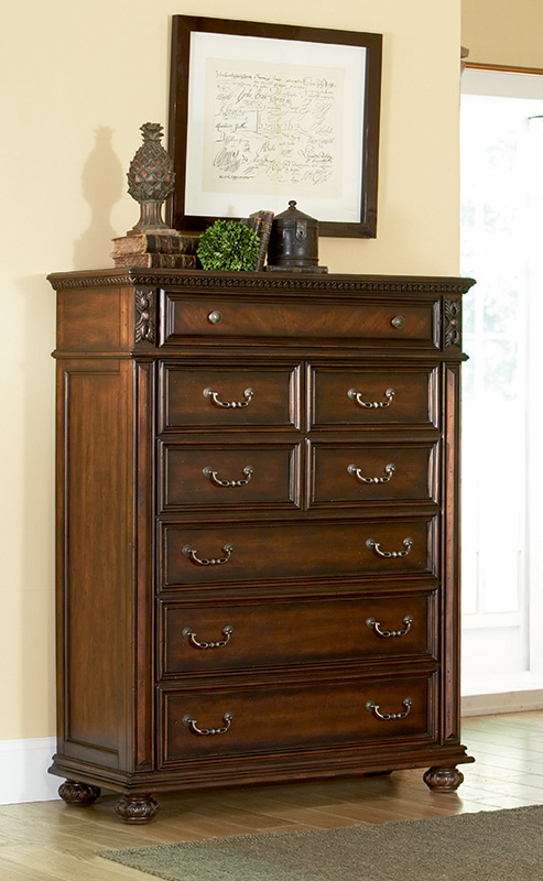 American Drew Barrington House 6 Drawer Chest