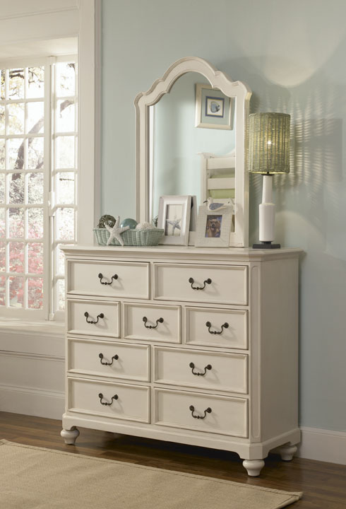 American Drew Retreat 9 Bureau - Antique White