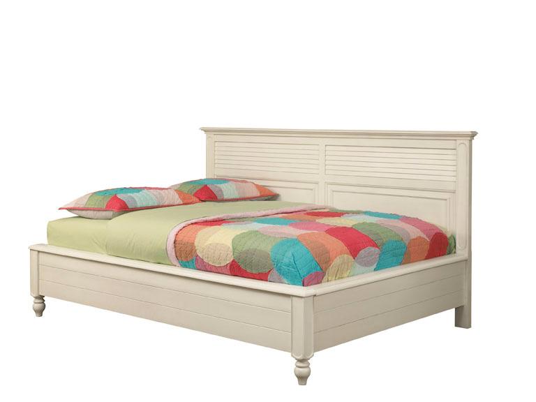 American Drew Retreat Sideways Bed - Antique White