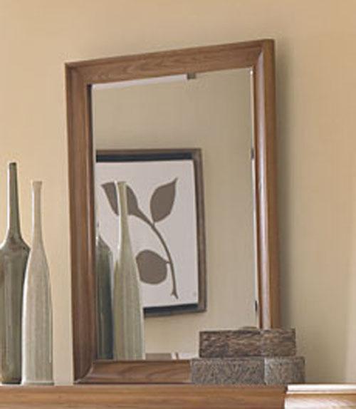 American Drew Ashby Park Nutmeg Vertical Mirror