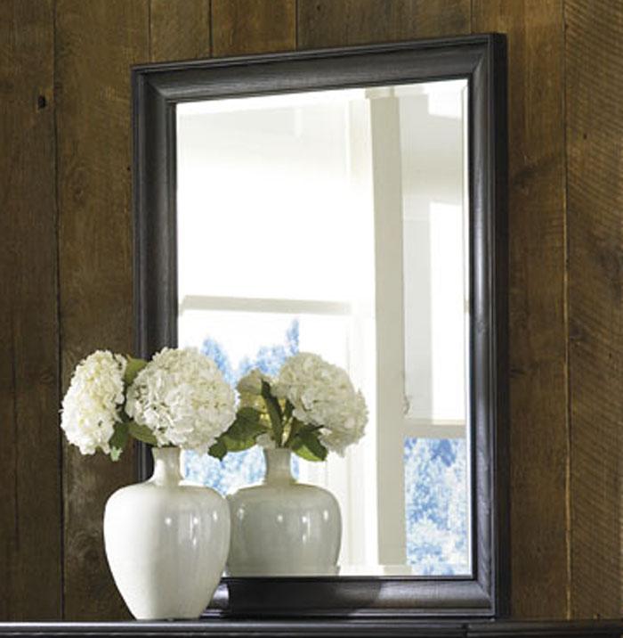 American Drew Ashby Park Peppercorn Vertical Mirror
