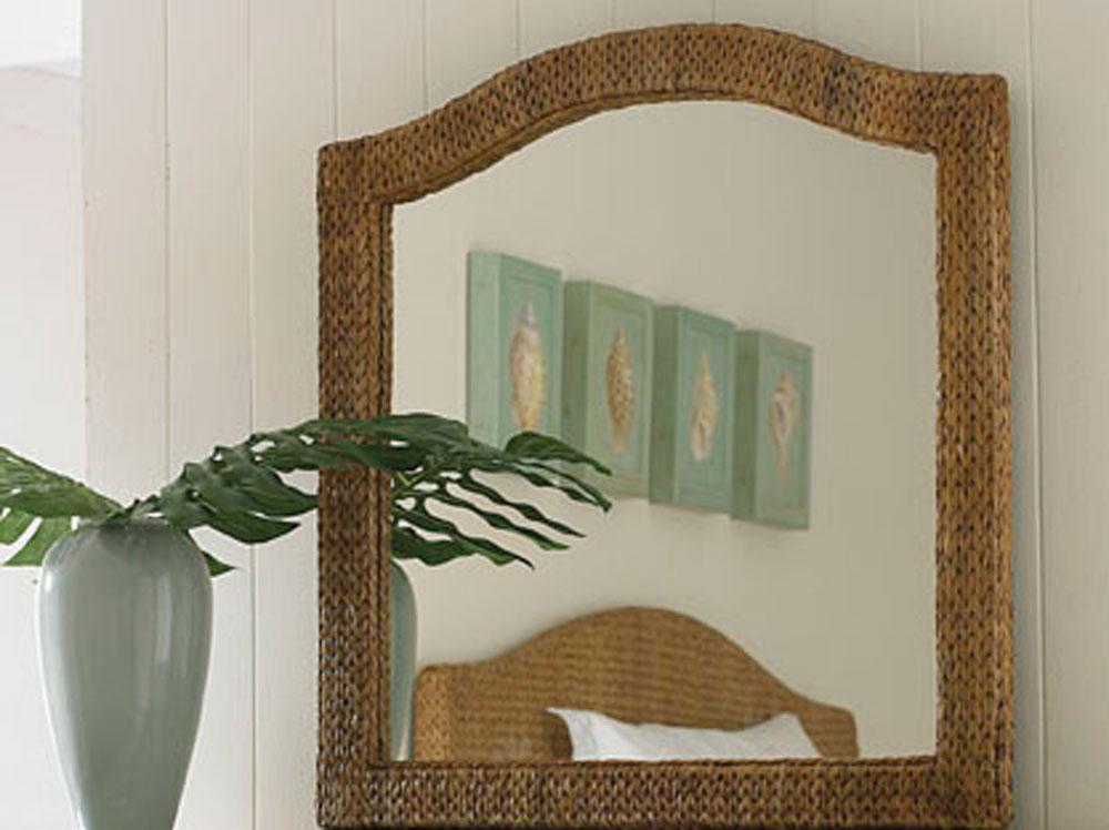 American Drew Ashby Park Banana Leaf Mirror