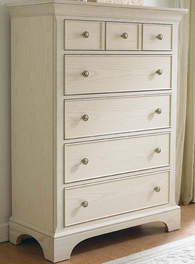 American Drew Ashby Park Sea Salt Drawer Chest