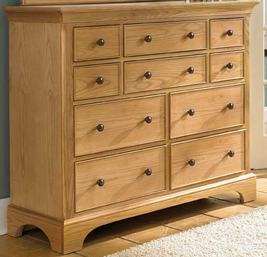 American Drew Ashby Park Natural Dressing Chest/Entertainment