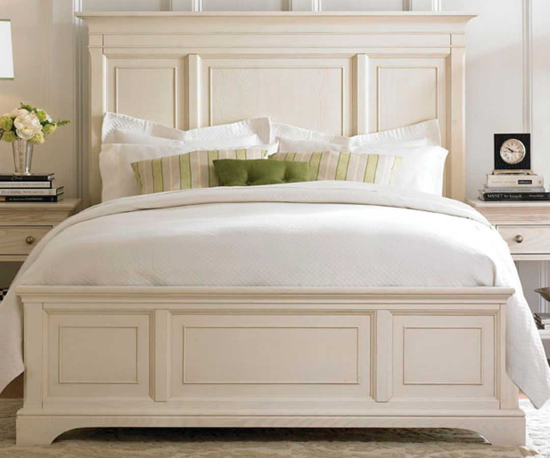 Ashby Park Sea Salt Panel Bed - American Drew