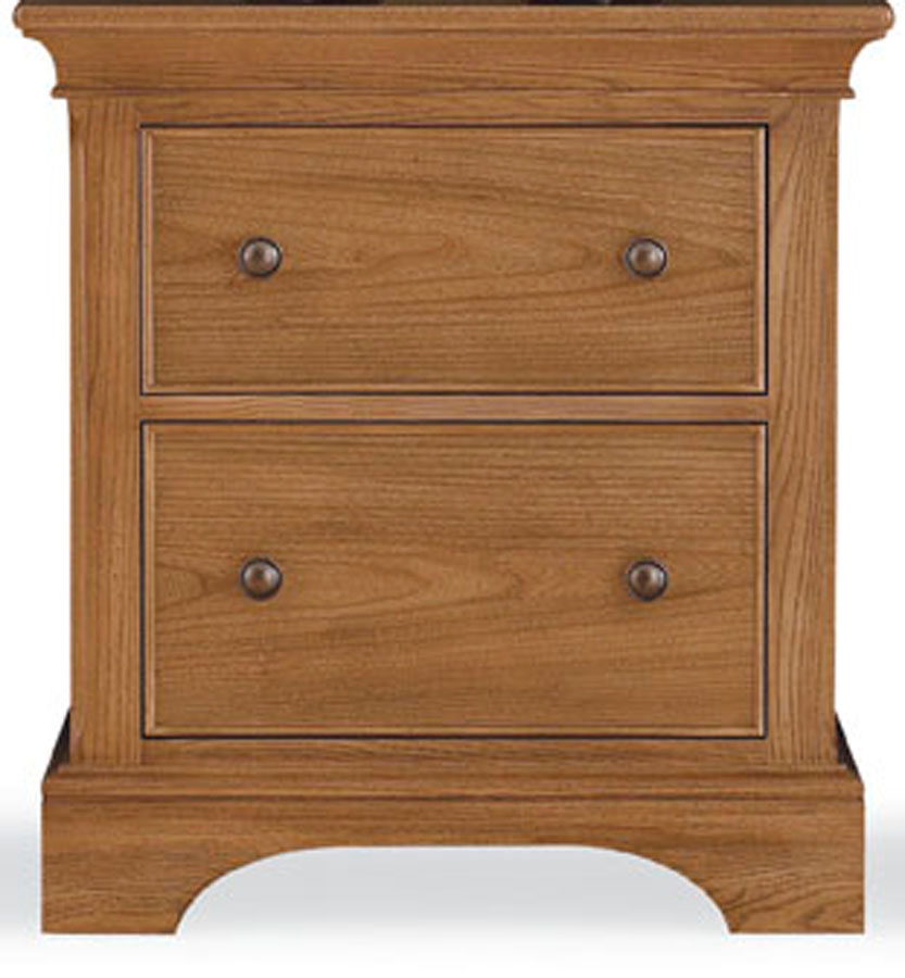 American Drew Ashby Park Nutmeg Night Stand
