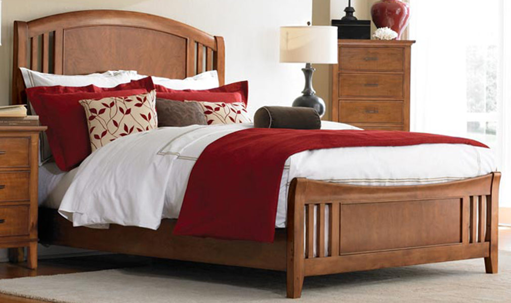 American Drew Valley Panel Bed