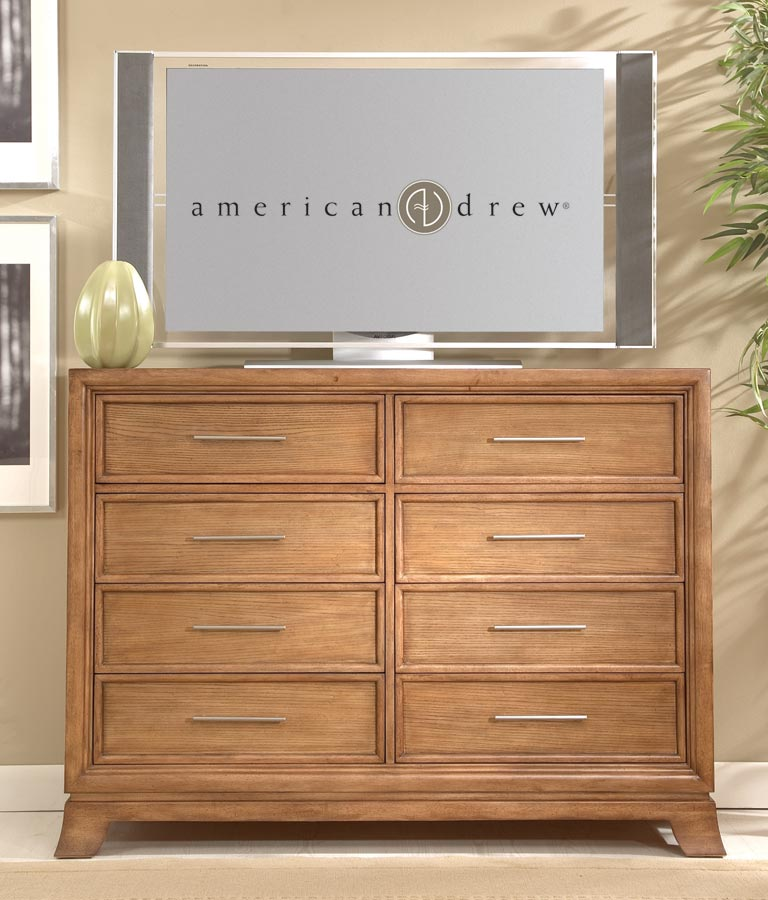 American Drew Chalice Dressing Chest - Entertainment TV Chest