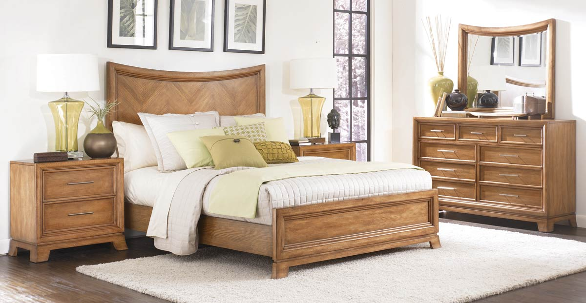 American Drew Chalice Arched Panel Bedroom Collection
