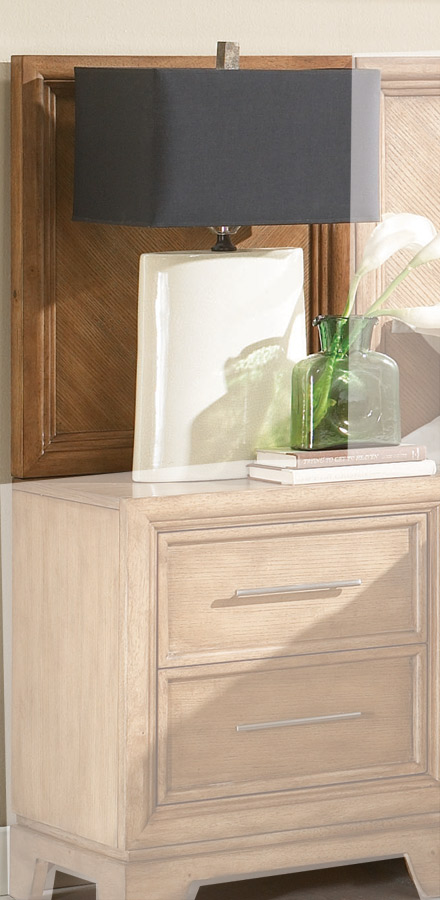 American Drew Chalice Nightstand Back Panel