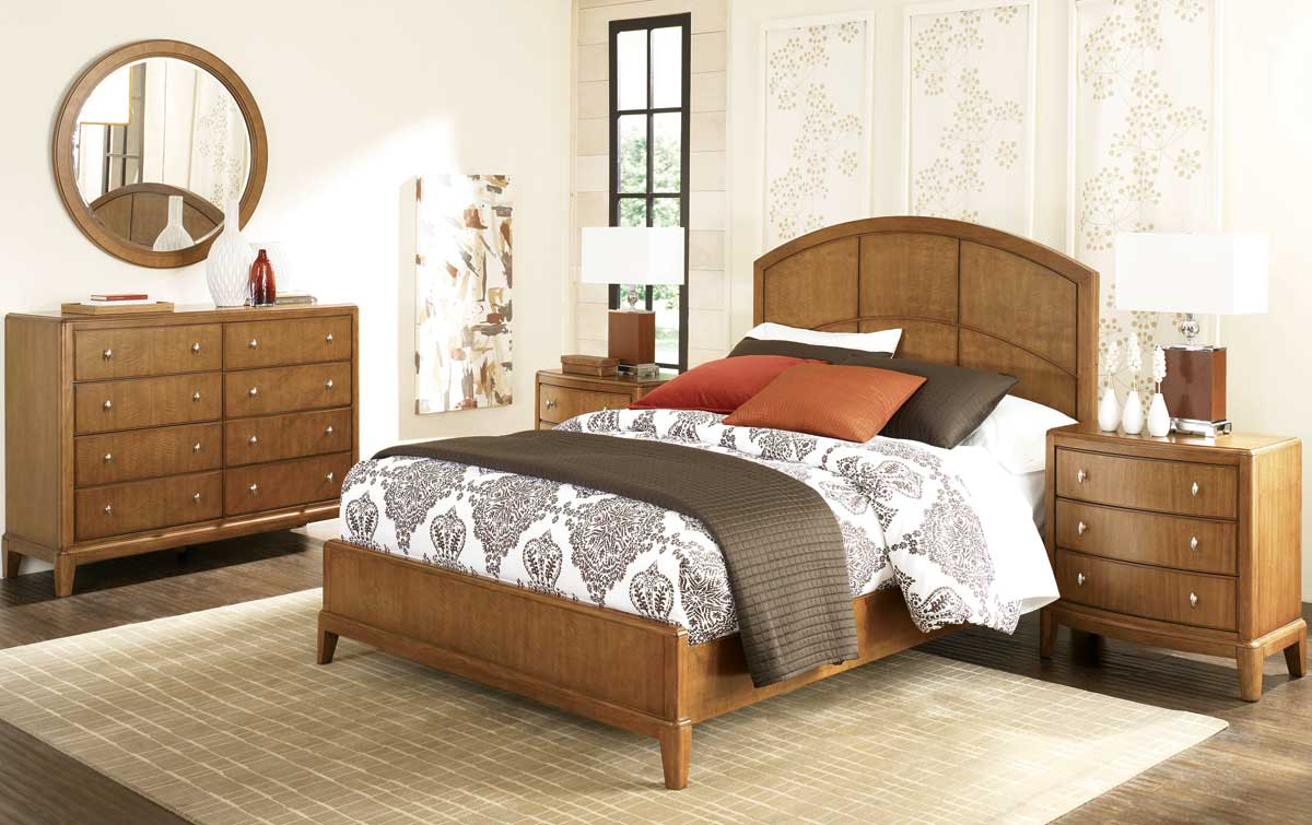 American Drew Preface Panel Bedroom Collection