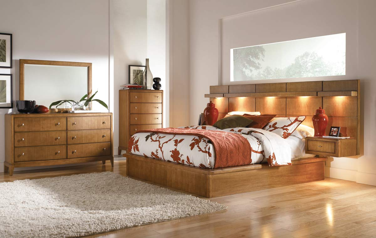 American Drew Preface Wall Bedroom Collection